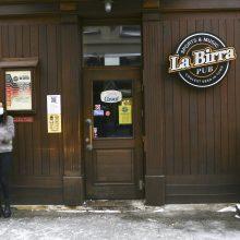Kelis mėnesius uždaryti barai ir restoranai prašo kompensacijų dėl sustabdytos veiklos