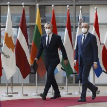 ES ir NATO nori plėsti bendradarbiavimą