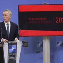 11 NATO valstybių pernai pasiekė gynybai skiriamų išlaidų tikslą