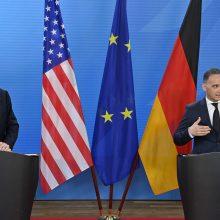 """JAV ir Vokietija ieško bendrų sąlyčio taškų dėl """"Nord Stream 2"""""""