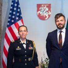 Akredituota nauja JAV gynybos atašė Lietuvai