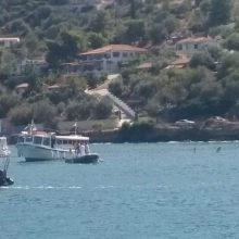 Graikijos saloje po sraigtasparnio katastrofos nutrūko elektros tiekimas, yra aukų