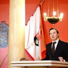 Naujasis VU rektorius: stiprus universitetas yra valstybingumo pamatas