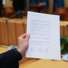 Socialdemokratai kritikuoja dalį naujos koalicijos sutarties nuostatų
