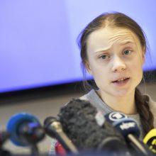 BBC kurs dokumentinį serialą apie klimato aktyvistę G. Thunberg
