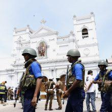 Atakos Šri Lankoje nusinešė mažiausiai 15 šalių piliečių gyvybes