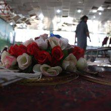 Išpuolio per vestuves Kabule aukų padaugėjo iki 80