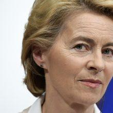 Būsimoji Europos Komisijos vadovė: visa Europa didžiuojasi Baltijos kelio drąsa
