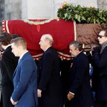 Ispanijoje ekshumuoti diktatoriaus F. Franco palaikai