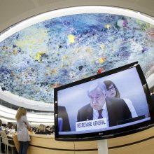 """JT vadovas paskelbė septynių punktų """"raginimą veikti"""" dėl žmogaus teisių"""