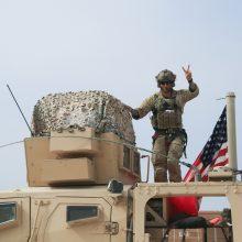JAV žada palikti Sirijoje apie 600 karių