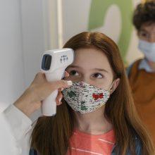 Ministrė: Lietuvos mokyklose dėl COVID-19 testuojasi apie 40 proc. vaikų