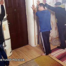 Vilniaus tabore sulaikyti narkotikų platintojai