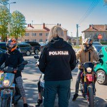 Klaipėdos pareigūnai tikrino transporto priemonių triukšmo lygį