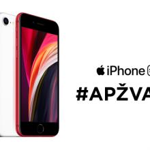 """Antros kartos """"iPhone SE"""" (2020): ką siūlo biudžetinis """"Apple"""" išmanusis?"""