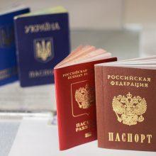 Rytų Ukrainos gyventojai galės gauti Rusijos pilietybę supaprastinta tvarka