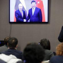 Prezidentai įjungė naująjį dujotiekį iš Sibiro į Kiniją