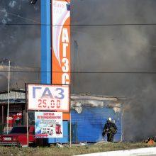 Sibire po sprogimo ir gaisro degalinėje hospitalizuoti 34 žmonės