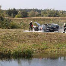 Kauno rajono ugniagesiams atsistoti ant kojų padėjo kolegos lenkai