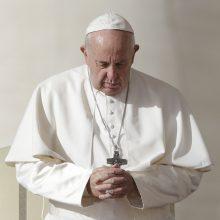 Popiežius Pranciškus prakalbo apie korupciją Vatikane