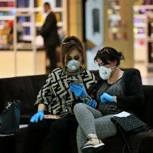 Šveicarijoje – pirmasis mirties nuo koronaviruso atvejis