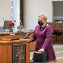 Vilniaus savivaldybėje prisiekė devyni nauji Tarybos nariai
