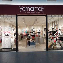 """Garsus Italijos dizainerių ženklas """"Yamamay"""" žengė į Lietuvą"""