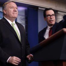 JAV paskelbė naujas sankcijas Iranui