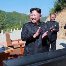 Kinijos prezidentas šią savaitę lankysis Šiaurės Korėjoje