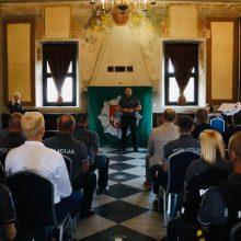 Pagerbti labiausiai pasižymėję Kauno apskrities policijos pareigūnai ir darbuotojai