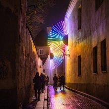 Per sostinės gimtadienį džiugins Vilniaus šviesų festivalis