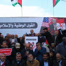 """""""Hamas"""" atmeta D. Trumpo planą"""