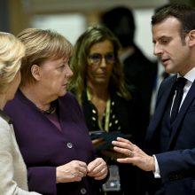 """ES lyderiai surėmė ietis """"labai sunkiose"""" derybose dėl biudžeto"""