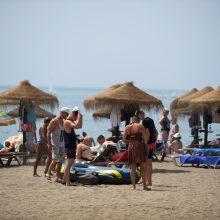 Ispanijoje pamažu atsigauna turizmas
