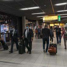 Nyderlanduose smarkiai mažėja naujų COVID-19 atvejų skaičius