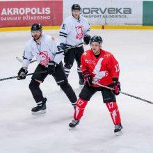 """Įspūdingą atkarpą trečiame kėlinyje sužaidusi """"Energija"""" nugalėjo """"Hockey Punks"""""""