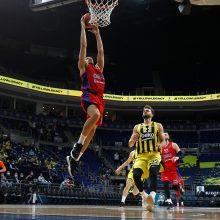 Sugrįžęs J. Vesely buvo išvarytas, o CSKA žengė į finalo ketvertą