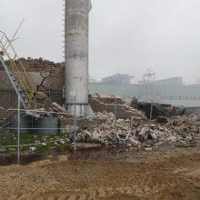 Klaipėdos medienos įmonės gaisras likviduotas