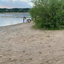 Nelaimė Lampėdžio ežere: skendusio vyro atgaivinti nepavyko