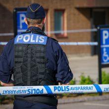 Švedijoje per šaudynes sužaloti keli žmonės