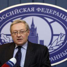 Maskva: Rusija pateiks JAV konkrečių siūlymų ginklų kontrolės srityje