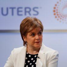 Londonas žada neleisti surengti naujo referendumo dėl Škotijos nepriklausomybės