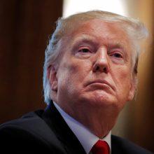 "D. Trumpas: Iranas išjungė internetą siekdamas nuslėpti ""mirtį ir tragediją"""