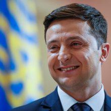V. Zelenskis įkūrė Ukrainos gynėjų atminimo dieną