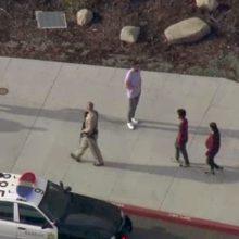 Kruvinas išpuolis Kalifornijos mokykloje: nušauti du moksleiviai, dar trys sužeisti
