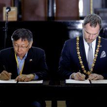 Praha pasirašė partnerystės susitarimą su Taibėjumi, ignoruodama Pekiną