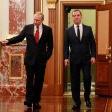 Valstybės Dūma pritarė rusų eksprezidentų neliečiamybei iki gyvenimo pabaigos