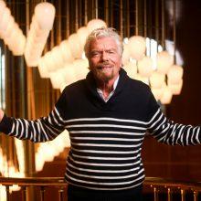 Britų milijardierius R. Bransonas siūlys prabangias kruizines keliones