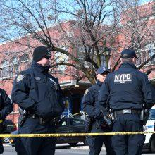 CNN: per 1000 Niujorko policininkų užsikrėtė koronavirusu