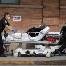 JAV mirė jau daugiau kaip 100 tūkst. COVID-19 pacientų